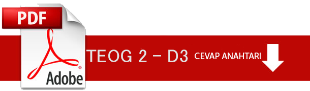 D3 Cevap Anahtarı